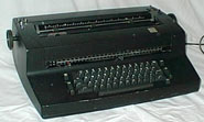Picture of selectric typewriter